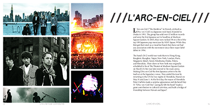 L'Arc~en~Ciel Chansons Book About The Band