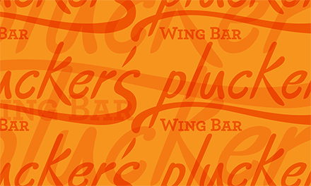 Plucker's Re-Brand Logo Pattern