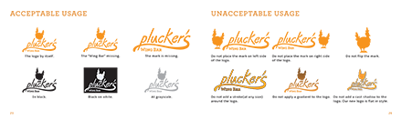 Plucker's Re-Brand Manual Spread Example Two