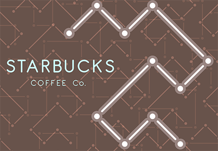 Starbucks Re-Brand Logo Pattern