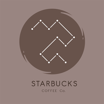 Starbucks Re-Brand Logo With Background